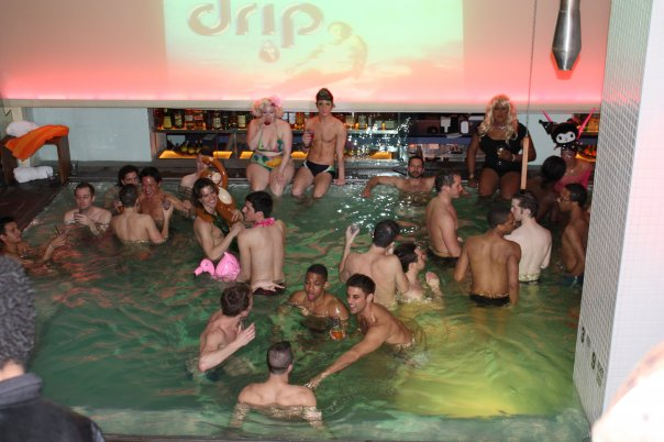 We briefly mentioned the gay pool party called Drip, but didn't give it too ...