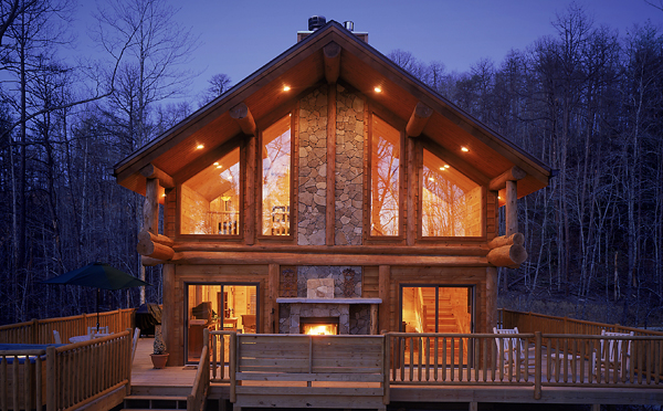 for mountains cherokee north airbnb cabins houses nc great old mountain in sale smoky carolina