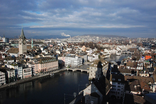 Host to this year's Europride 09 festivities, Zurich is as gay-friendly as a ...