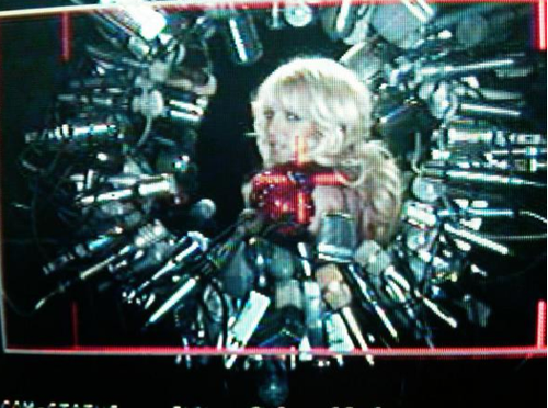 britney spears hold it against me video pictures. Last night Britney Spears took