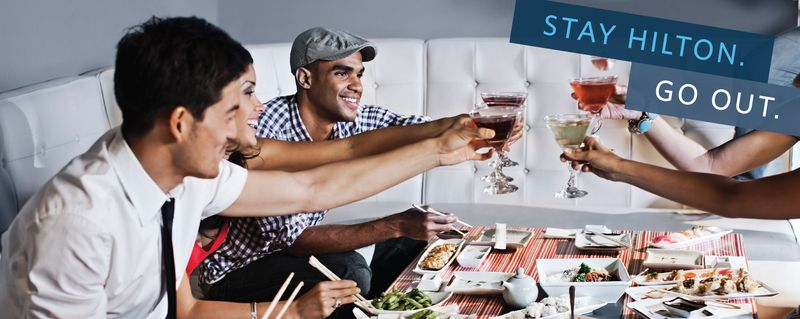 Gay Pride Hotel Deal - Stay Hilton Go Out Package